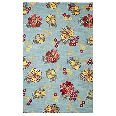 Dynamic Rugs Dream Blue Area Rug; 8' x 11'