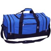 Everest 25'' Sporty Travel Duffel; Royal Blue / Black
