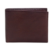 Dr. Koffer Fine Leather Accessories 5 Pocket ID Wallet; Venetian Brown
