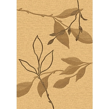 Dynamic Rugs Eclipse Beige/Brown Floral Area Rug; 7'10'' x 10'10''