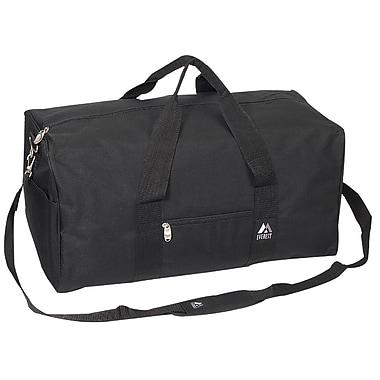 Everest 24'' Basic Travel Duffel; Black