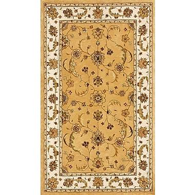 Dynamic Rugs Jewel Gold/Beige Rug; 5' x 8'