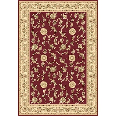 Dynamic Rugs Legacy Arronwood Red Rug; 7'10'' x 10'10''