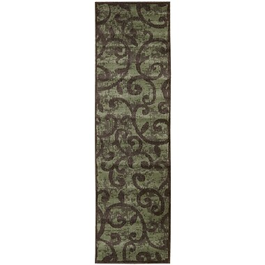 Nourison Expressions Brown Area Rug; Runner 2' x 5'9''