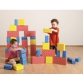 edushape Corrugated Toy Blocks Set; 52 Piece Set