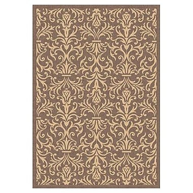 Dynamic Rugs Piazza Rockwell Brown Indoor/Outdoor Area Rug; 7'10'' x 10'10''