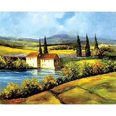 Magic Slice 12'' x 15'' Tuscan Scene Design Cutting Board