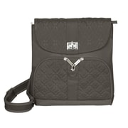 Travelon Anti-Theft Messenger Bag; Truffle