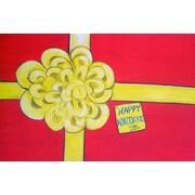 Custom Printed Rugs Happy Holidays Doormat