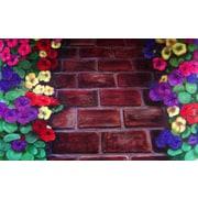 Custom Printed Rugs Brick Path Doormat