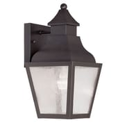 Livex Lighting Vernon 1 Light Outdoor Wall Lighting; Bronze