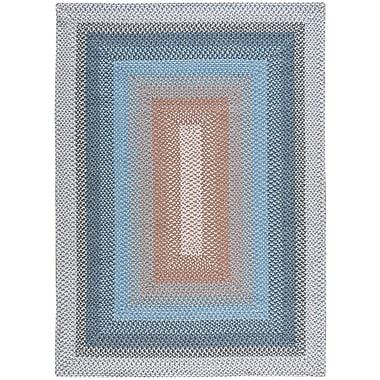 Nourison Craftwork Blue Rug; 7'6'' x 9'6''