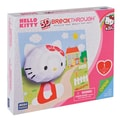 Mega Brands 100 Piece 3D Breakthrough Hello Kitty Puzzle