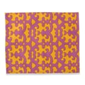 Couleur Nature Key Placemat (Set of 4); Purple/Gold