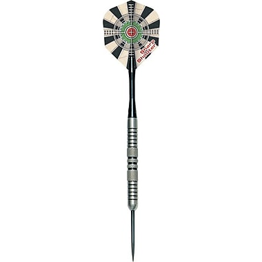 Dart World Sharp Shooter Steel Tip Darts w/ Case (Set of 3); 24 grams - 18024
