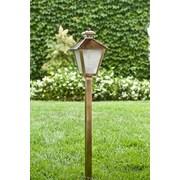 Dabmar Lighting 1 Light Post Lantern Path / Walkway / Area Light; Antique Brass