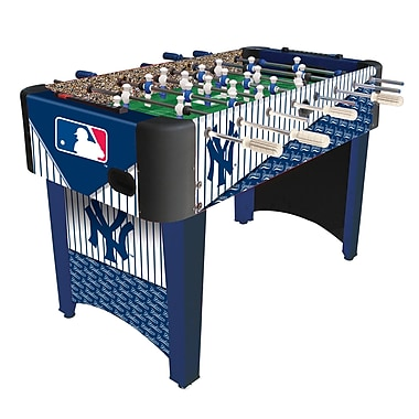 Imperial MLB 2'5'' Foosball Table; New York Yankees