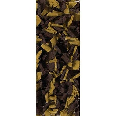 Chandra Ayoka Brown/Yellow Area Rug; 7'9'' x 10'6''