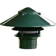 Dabmar Lighting 1 Light Pagoda Landscape Lighting; Green