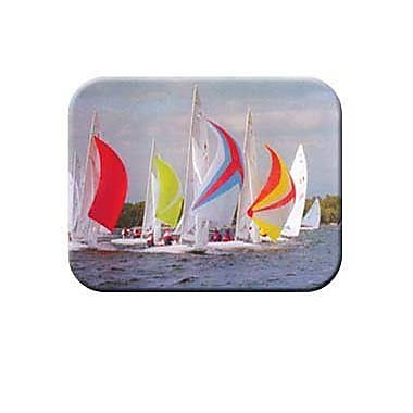 McGowan Tuftop Sail Boats Cutting Board