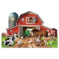 Melissa & Doug® Busy Barn Yard Shaped Floor Puzzle, 32 Pieces
