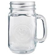 Libbey® Clear Drinking Jar With County Fair Imprint, 16.5 oz., 12/Pack