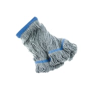 Janiloop Synthetic Wide Band Loop End Wet Mop Heads, Green