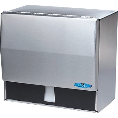 Frost Universal Paper Towel Dispenser, Stainless Steel