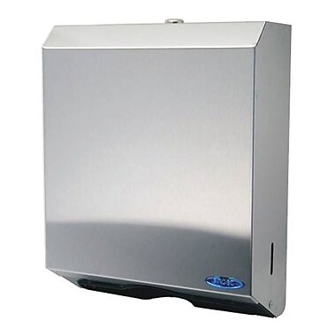 """Frost Multifold and """"C"""" Fold Paper Towel Dispenser, Stainless Steel"""