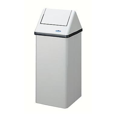 Frost Free Standing Waste Receptacle, 80-Litre, White