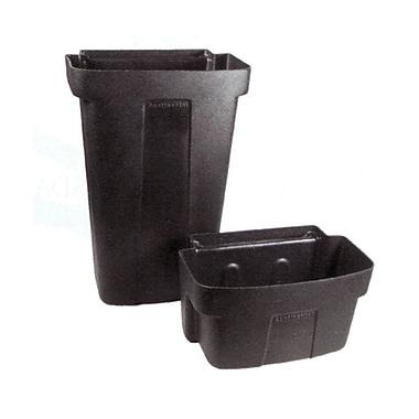 Continental Waste Bin for Utility Cart KA580, Black