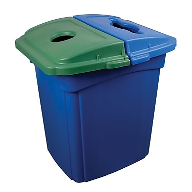 Continental Colossus Recycling Station Containers, Blue