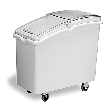 Continental Mobile Ingredient Bins, White