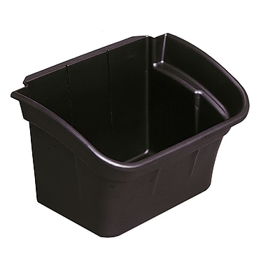 Rubbermaid Utility Bin, Black