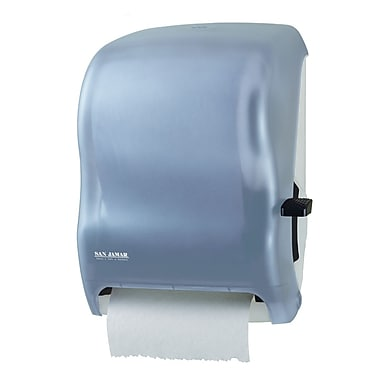San Jamar Lever Roll Paper Towel Dispenser, Black