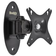Buddy Products® Flush Mount For LCD/Plasma Panels Up to 88 lbs., Black
