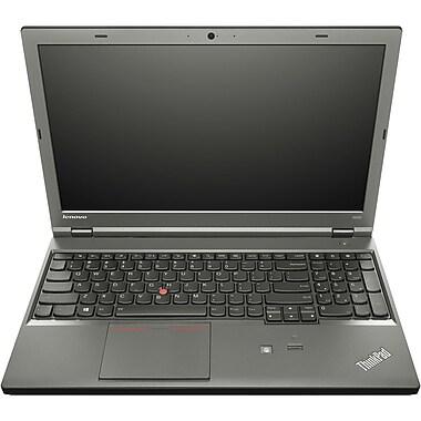 Lenovo® ThinkPad W540 20BG 15.6in. HD Mobile Workstation, Intel Quad Core i7-4700MQ 2.7 GHz, Black