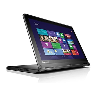 Lenovo® ThinkPad S1 Yoga 20CD 12.5in. Touchscreen Ultrabook, Intel Dual Core i7-4600U 2.5 GHz, Black