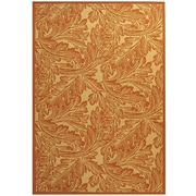 Safavieh Courtyard Natural / Terracotta Outdoor Area Rug; 5'3'' x 7'7''