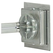 Tech Lighting MonoRail Square Direct End Power Feed; Satin Nickel