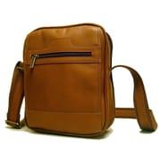 Le Donne Leather Men's Day Shoulder Bag; Tan