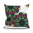 KESS InHouse Bright Polyester Throw Pillow; 16'' H x 16'' W