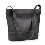 Le Donne Leather Everyday Shoulder Bag; Gray