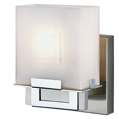Philips Square 1 Light Vanity Wall Sconce