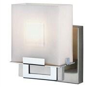 Philips Forecast Lighting Square 1 Light Vanity Wall Sconce