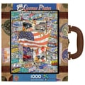 MasterPieces USA License Plates 1000 Piece Jigsaw Puzzle