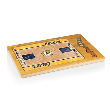 Picnic Time NBA Icon Cutting Cheese Board; Indiana Pacers