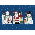 Milliken Winter 'Tis The Season' Christmas Mat; 3'10'' x 5'4''