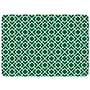 Bungalow Flooring Tazekka Decorative Mat; Green