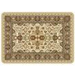 Bungalow Flooring Tabriz Decorative Mat; Natural